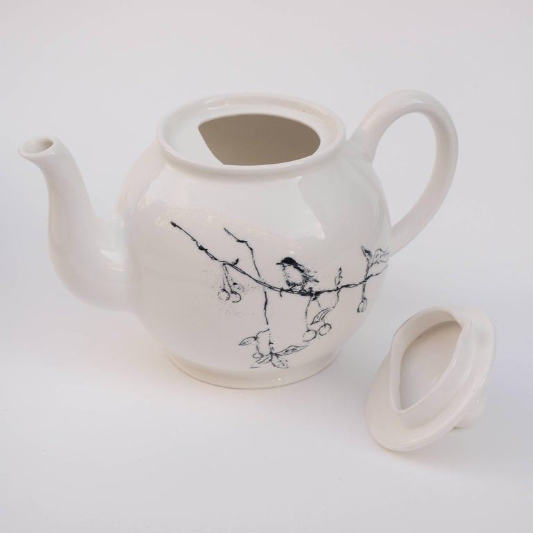 Tracey Emin, Foundlings and Fledglings, Our Angels of This Earth, Teapot, 2007 In Excellent Condition For Sale In Kingsdown, Kent