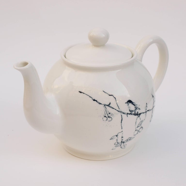 British Tracey Emin, Foundlings and Fledglings, Our Angels of This Earth, Teapot, 2007 For Sale
