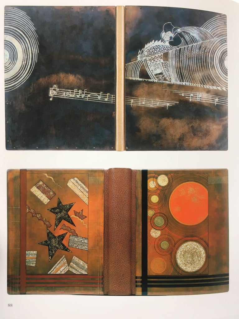 Late 20th Century Art Nouveau and Art Deco Bookbinding, the French Masterpieces, 1880-1940 For Sale