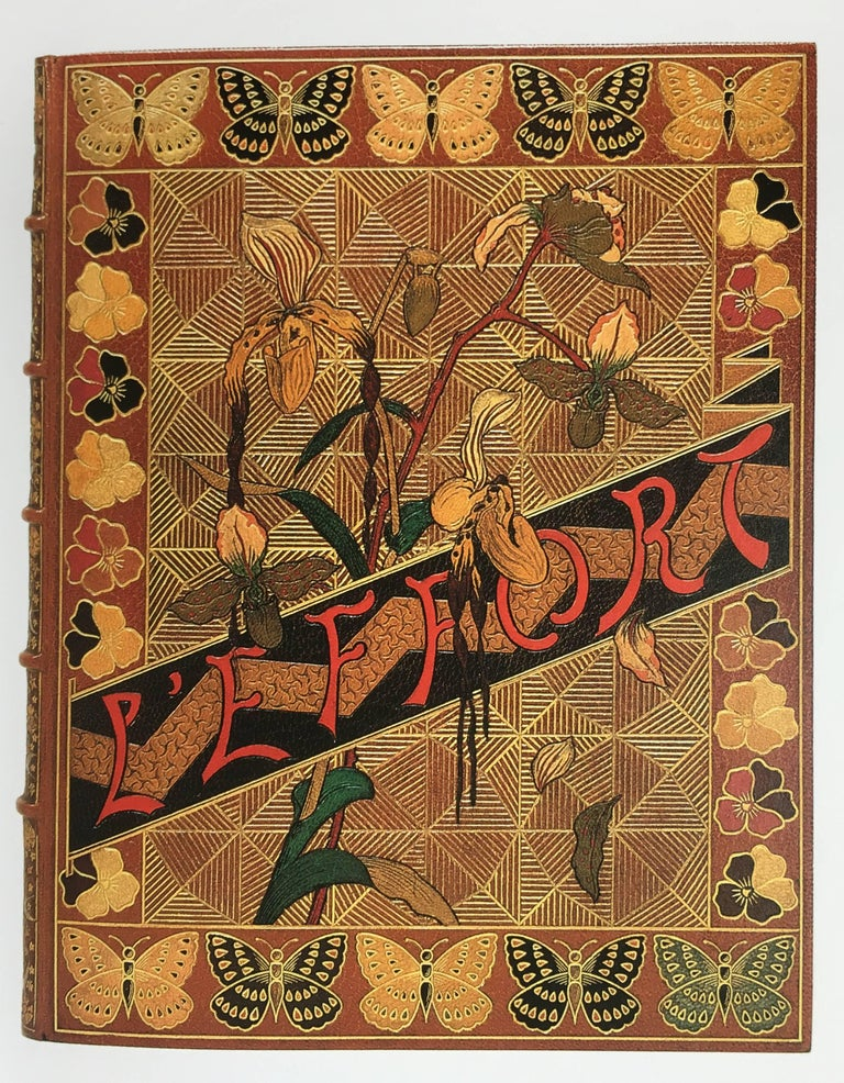 First edition, hardback, published by Thames and Hudson, 1989  Covering the creatively fruitful 60 years between 1880 and 1940 this book is the first major study of the Art Nouveau and Art Deco influence on bookbinding. The sinuous and organic