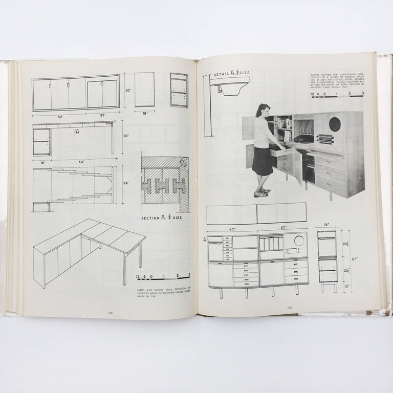 Modern Furniture, its Design and Construction by Mario Dal Fabbro, 1950 In Good Condition For Sale In London, GB