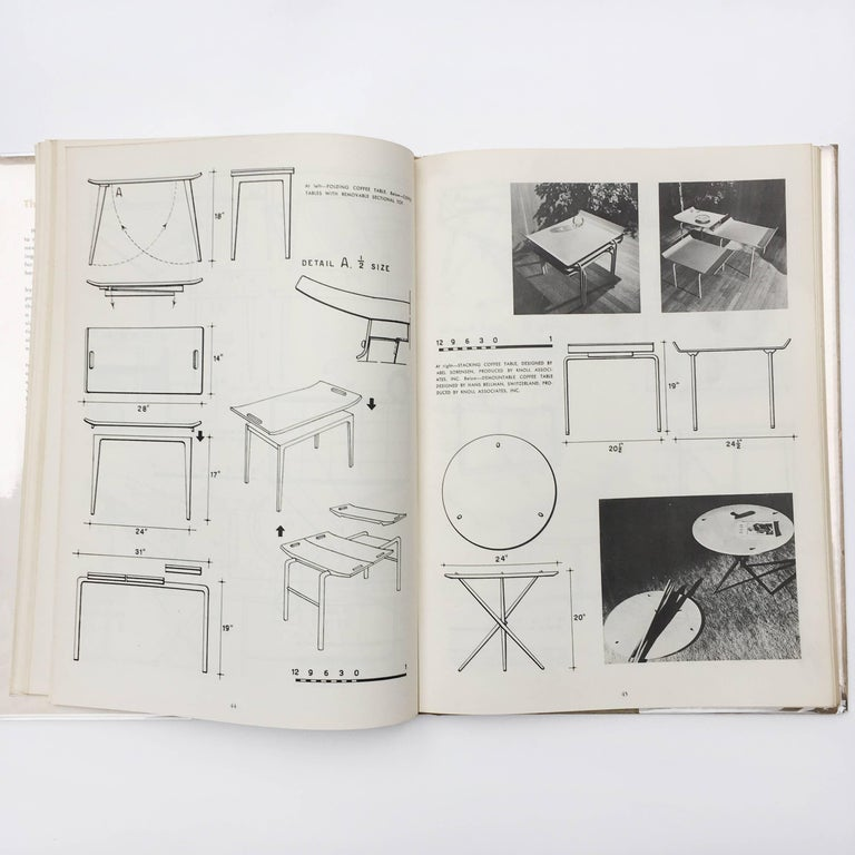 Mid-Century Modern Modern Furniture, its Design and Construction by Mario Dal Fabbro, 1950 For Sale