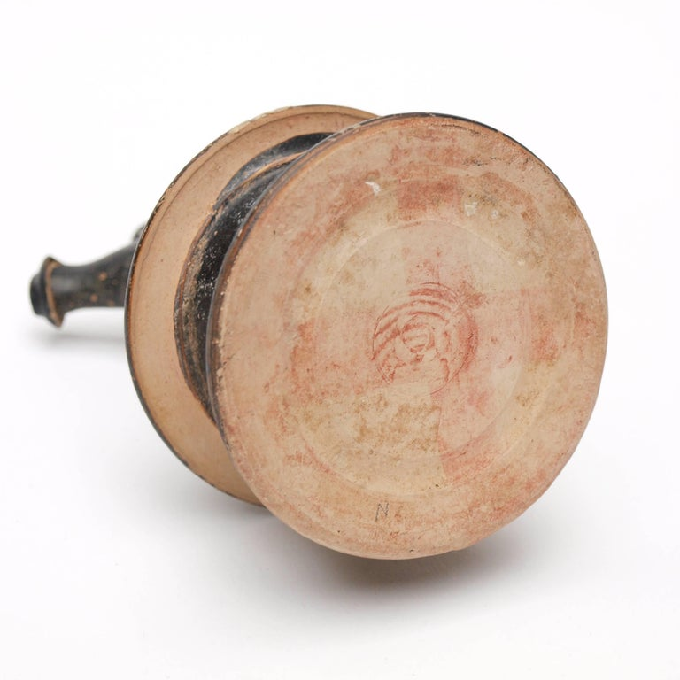 Apulian Hand-Painted Epichysis 'Jug', circa 300-400 BC For Sale 3