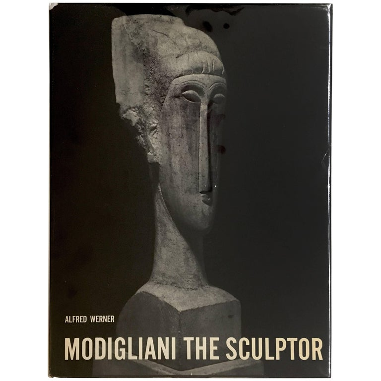 Modigliani the Sculptor, Book For Sale