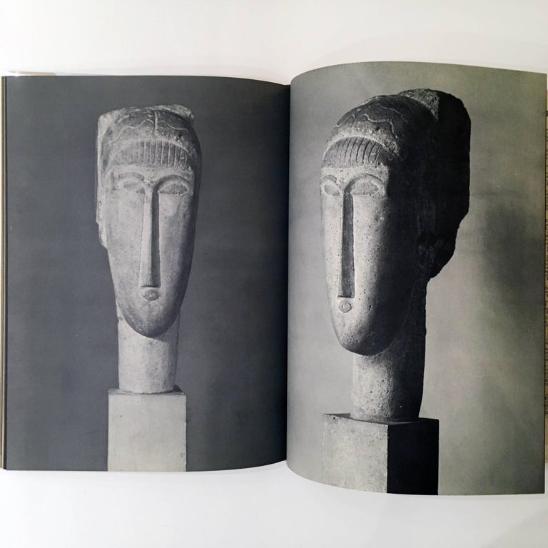 Mid-Century Modern Modigliani the Sculptor, Book For Sale