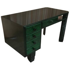 Exclusive 1930s Art Deco Desk, Italy
