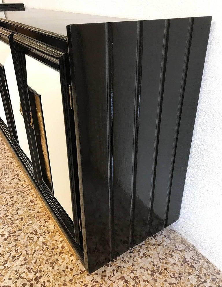 Italian 1940s Art Deco Sideboard For Sale