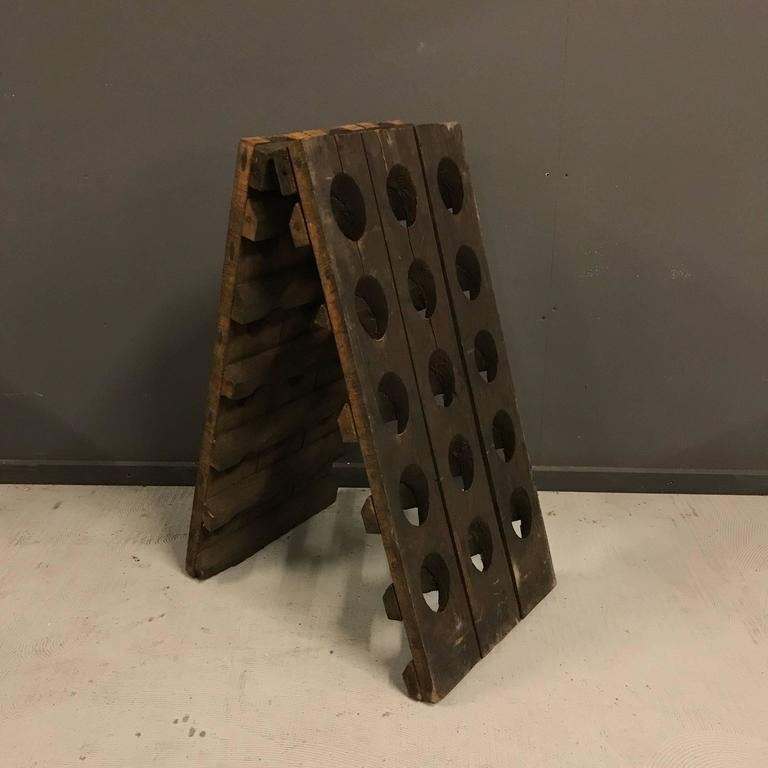 Small French Champagne Riddling Rack 3
