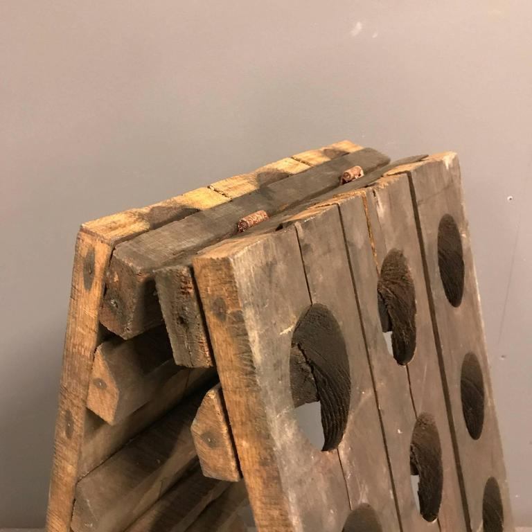 Small French Champagne Riddling Rack 4