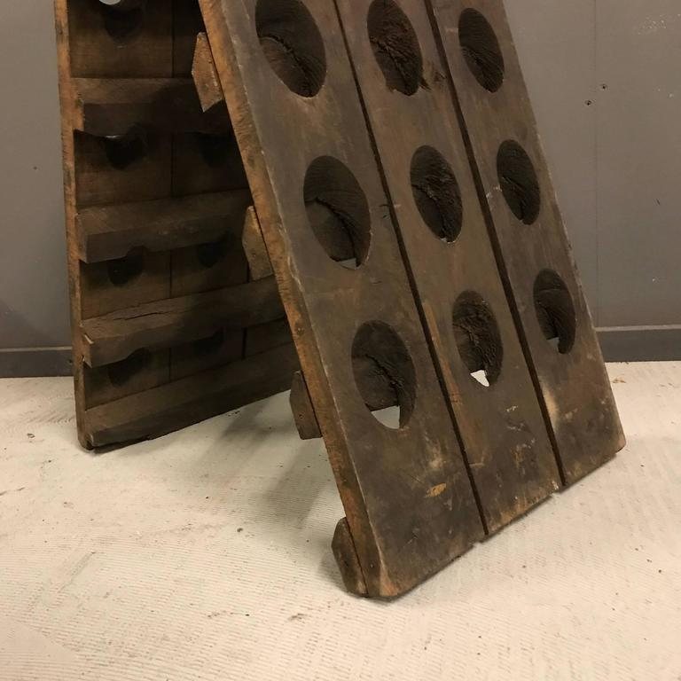 Small French Champagne Riddling Rack 5