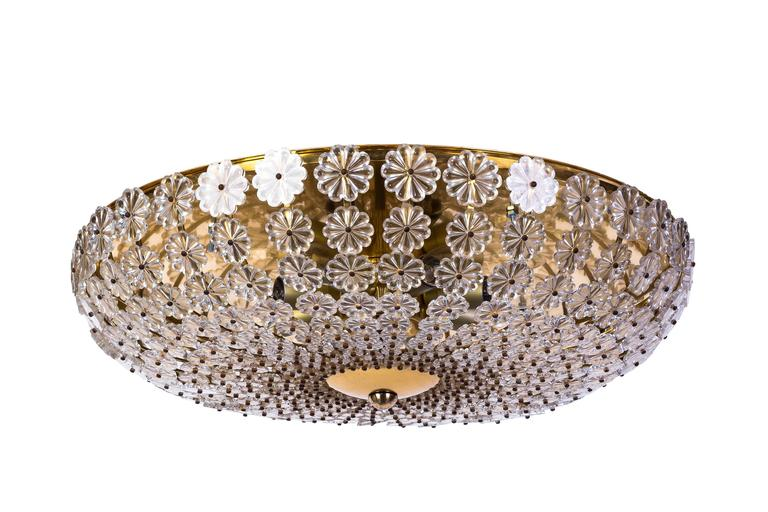 Plafoniere Moderne Living : Chic colossal h richter glass flowers wall ceiling plafoniere