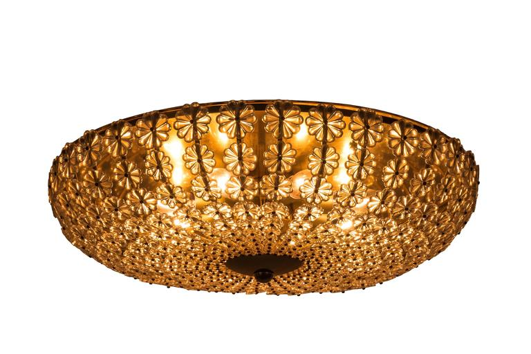 Plafoniere Living : Chic colossal h richter glass flowers wall ceiling plafoniere