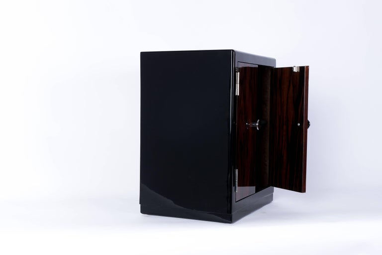 Mid-20th Century Captivating French Art Deco Bar Cabinet For Sale
