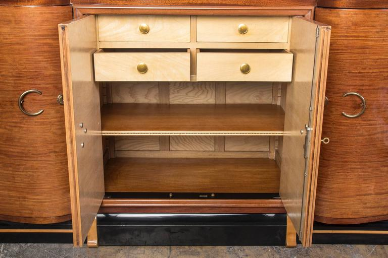 Mid-20th Century Grand French Art Deco Credenza or Buffet or Sideboard For Sale