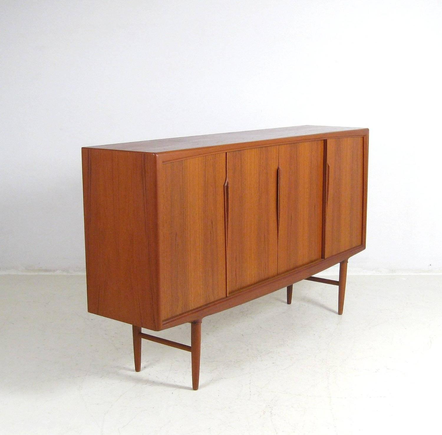 1960s Axel Christensen for Gunni Omann Teak Sideboard ...