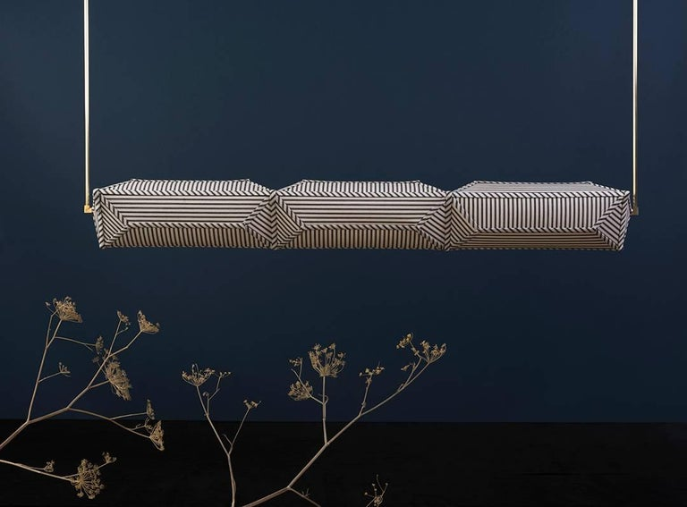 Hyperlink is a new series of customizable LED lighting by Erich Ginder Studio. Modules can be installed individually or linked together to create expansive sources of soft light or connect to make geometric shapes that can be combined to create