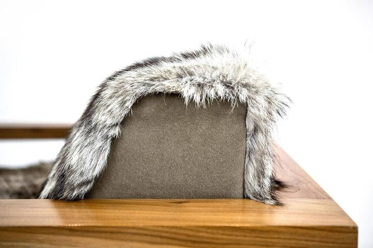 Sentient Caribou Exposed Frame Lounge Chair Coyote Fur