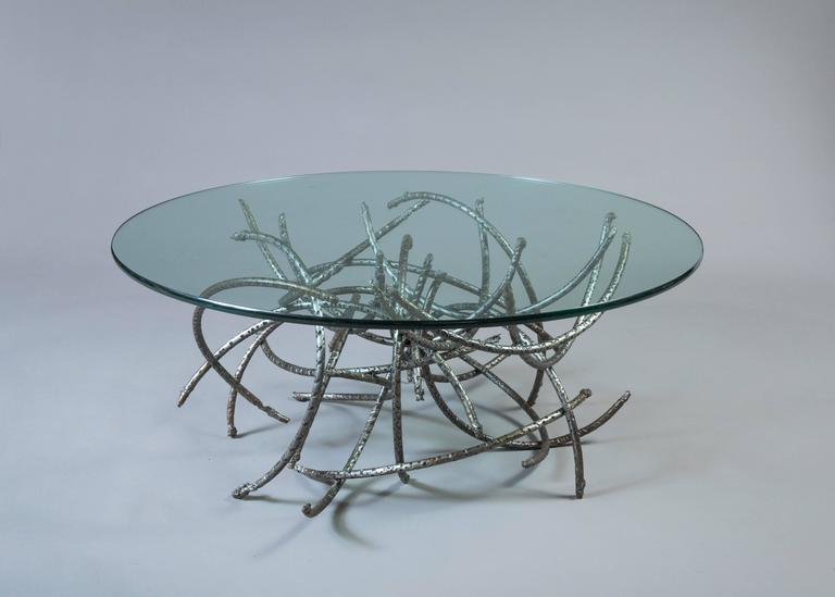 Medusa Iron Coffee Table In Excellent Condition For Sale In East Hampton, NY