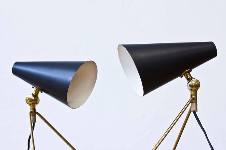 Swedish, 1950s Desk/Wall Lamps at 1stdibs