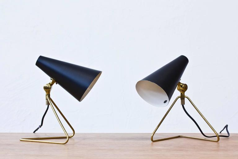 Wall Lamp For Desk : Swedish, 1950s Desk/Wall Lamps at 1stdibs