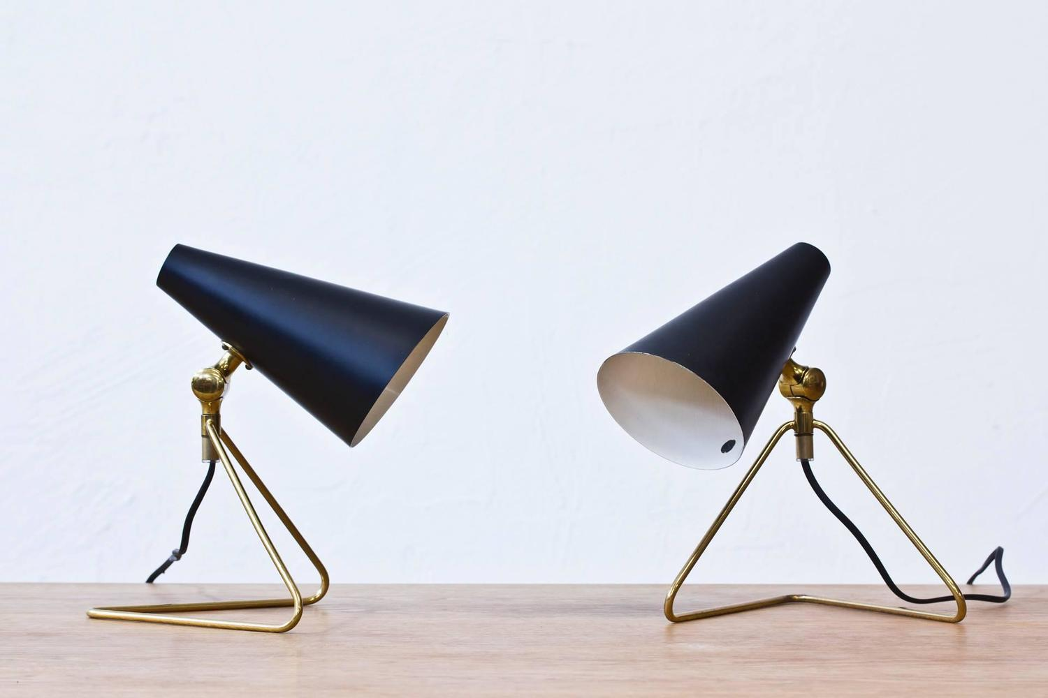 Wall Desk Lighting : Swedish, 1950s Desk/Wall Lamps at 1stdibs