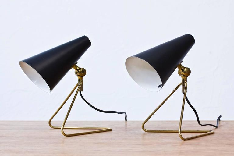 Swedish, 1950s Desk/Wall Lamps at 1stdibs