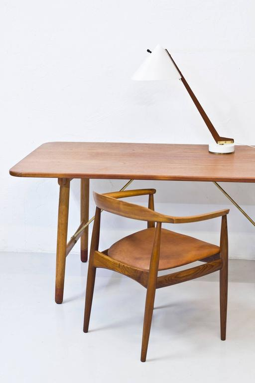 1950s Table Lamp B 54 by Hans Agne Jakobsson For Sale 2