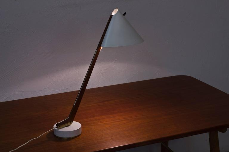 1950s Table Lamp B 54 by Hans Agne Jakobsson For Sale 1