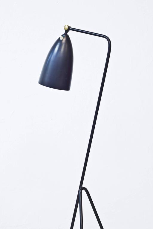 grasshopper g33 floor lamp by greta magnusson grossman for. Black Bedroom Furniture Sets. Home Design Ideas