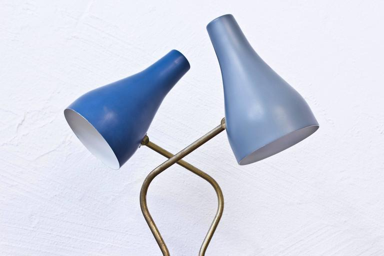 Scandinavian Modern Swedish 1950s Table Lamps by ASEA For Sale