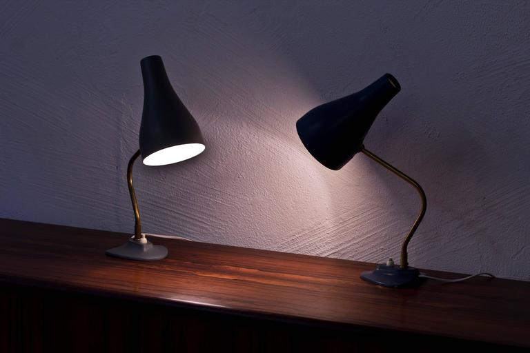 Swedish 1950s Table Lamps by ASEA For Sale 3