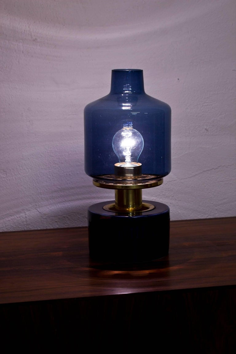 Rare 1960s Table Lamp by Agne Jakobsson and Andersson In Excellent Condition In Stockholm, SE