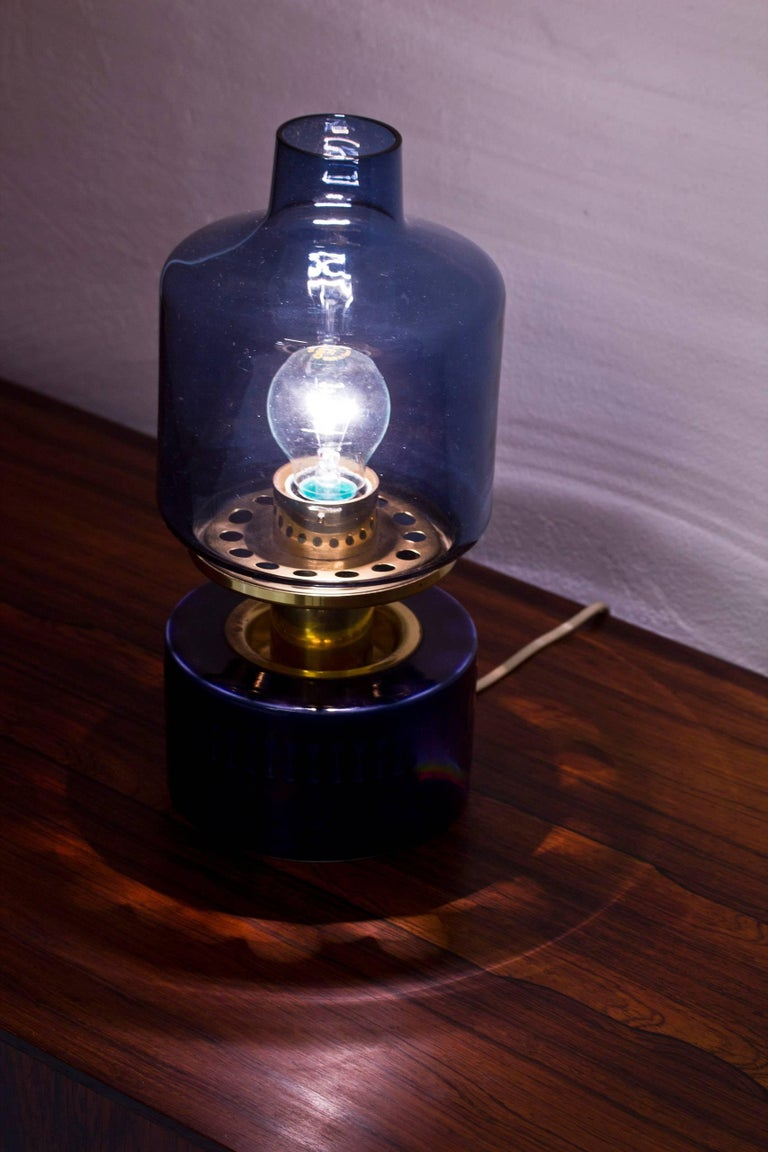 Brass Rare 1960s Table Lamp by Agne Jakobsson and Andersson