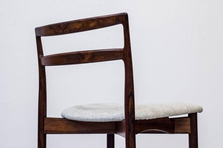 1960s Dining Chairs by Harry Østergaard at 1stdibs