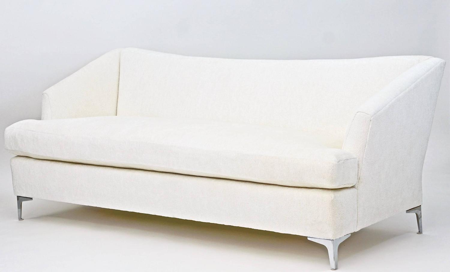Olson Contemporary Single Cushion Sofa For Sale At 1stdibs