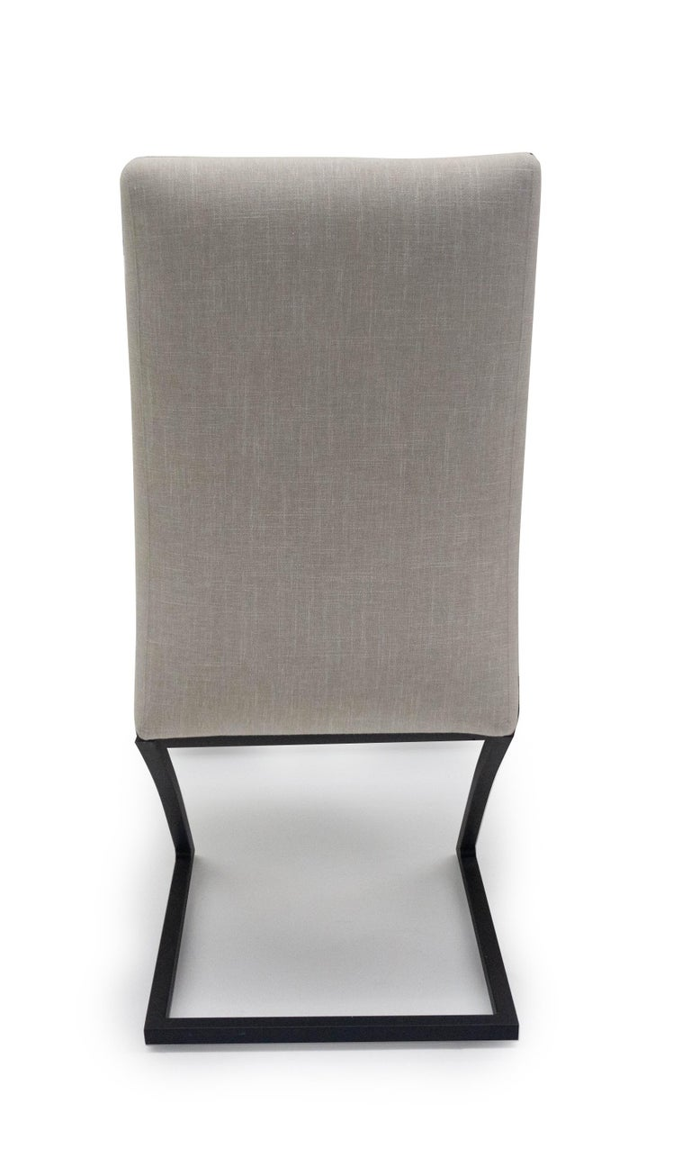 American modern upholstered dining chair for sale