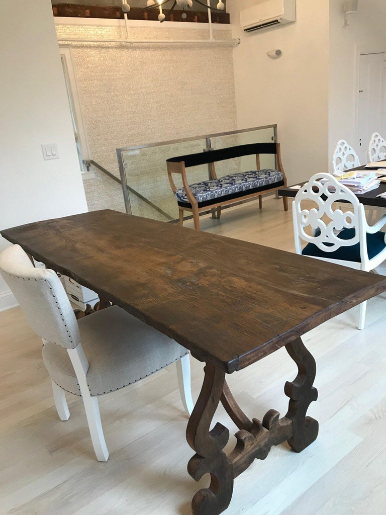 Spanish Colonial Spanish Style Refectory Table For Sale