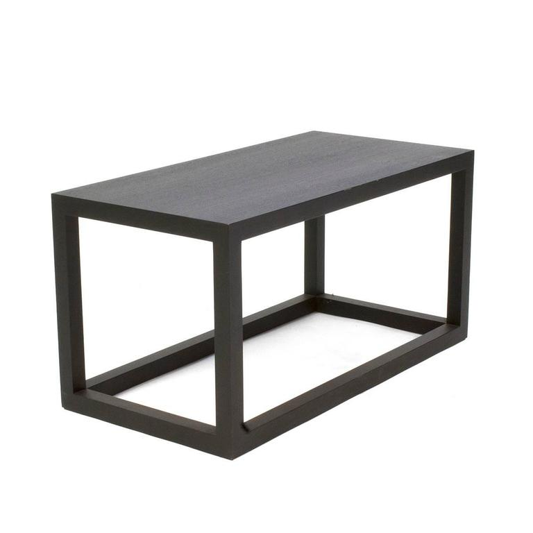 Cassina Oak Note Small Low Side Table By Piero Lissoni, Italy 2