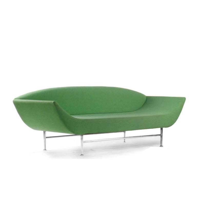 moroso green ellittico sofa by massimo iosa ghini modern. Black Bedroom Furniture Sets. Home Design Ideas