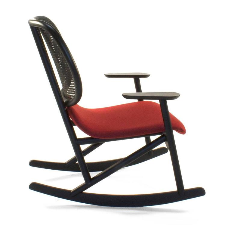 Italian Moroso Klara Rocking Lounge Chair by Patricia Urquiola, Italy For Sale