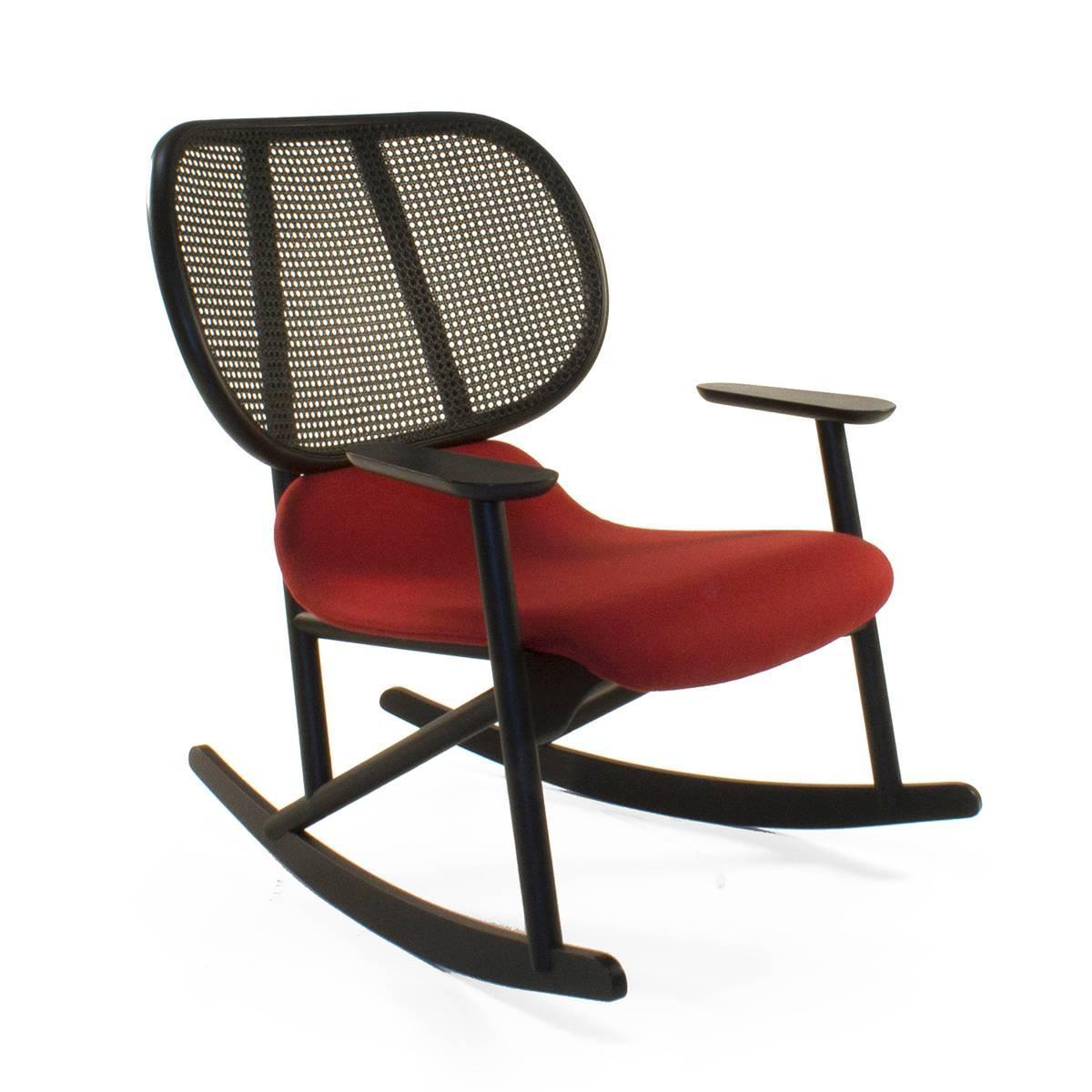 moroso klara rocking lounge chair by patricia urquiola italy for sale at 1stdibs. Black Bedroom Furniture Sets. Home Design Ideas