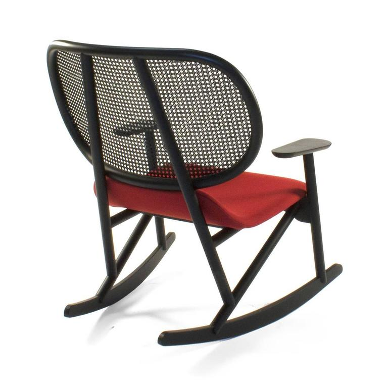 Moroso Klara Rocking Lounge Chair by Patricia Urquiola, Italy In Good Condition For Sale In Brooklyn, NY