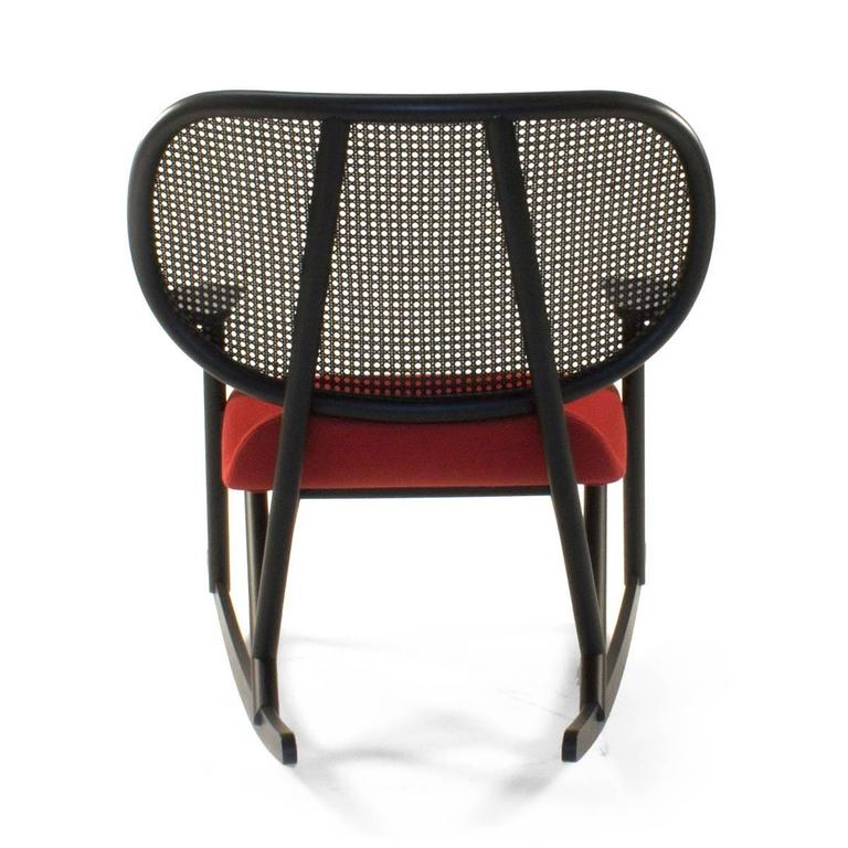 Contemporary Moroso Klara Rocking Lounge Chair by Patricia Urquiola, Italy For Sale