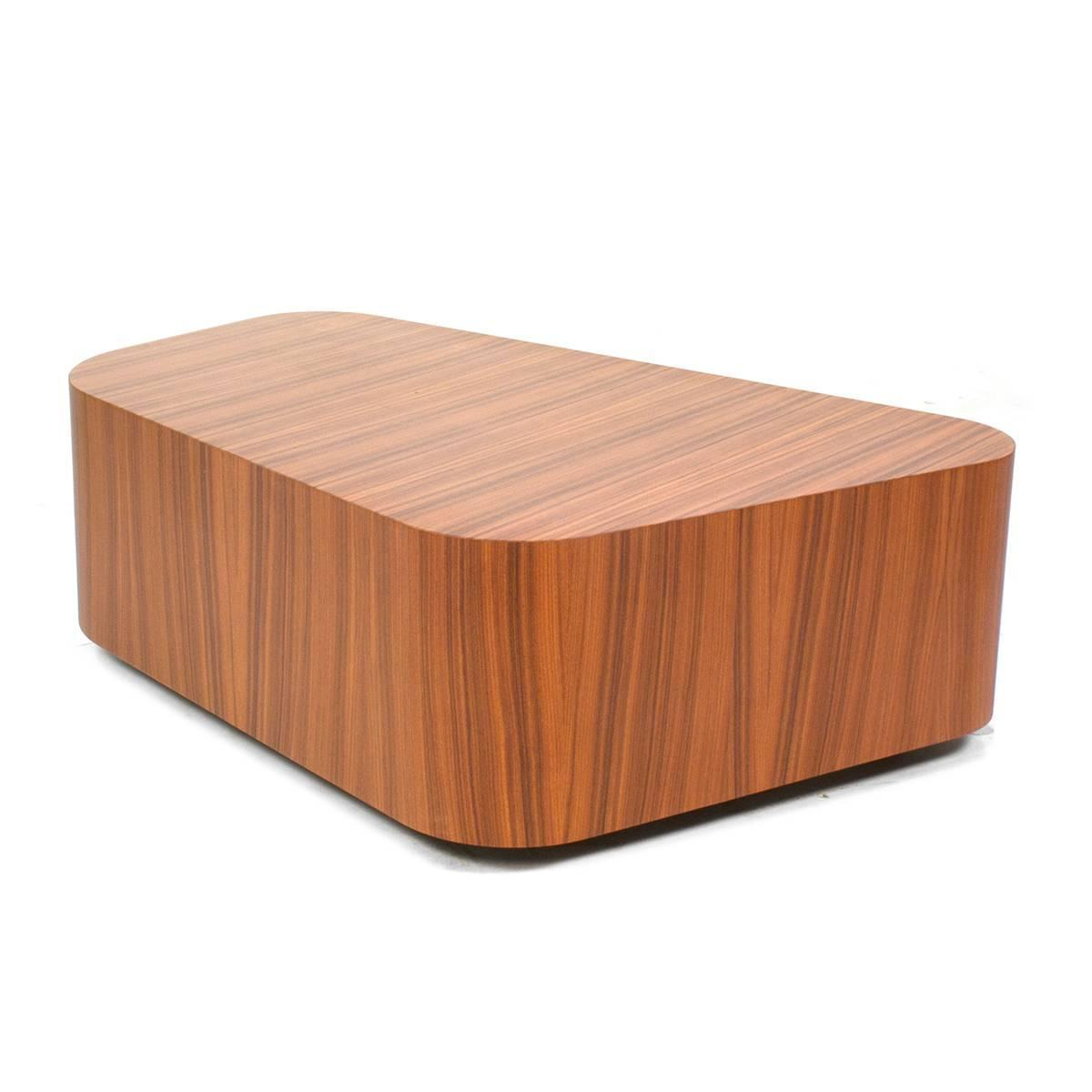 Wheeled Poltrona Frau Kennedee Coffee Table By Jean Marie Massaud Italy For Sale At 1stdibs