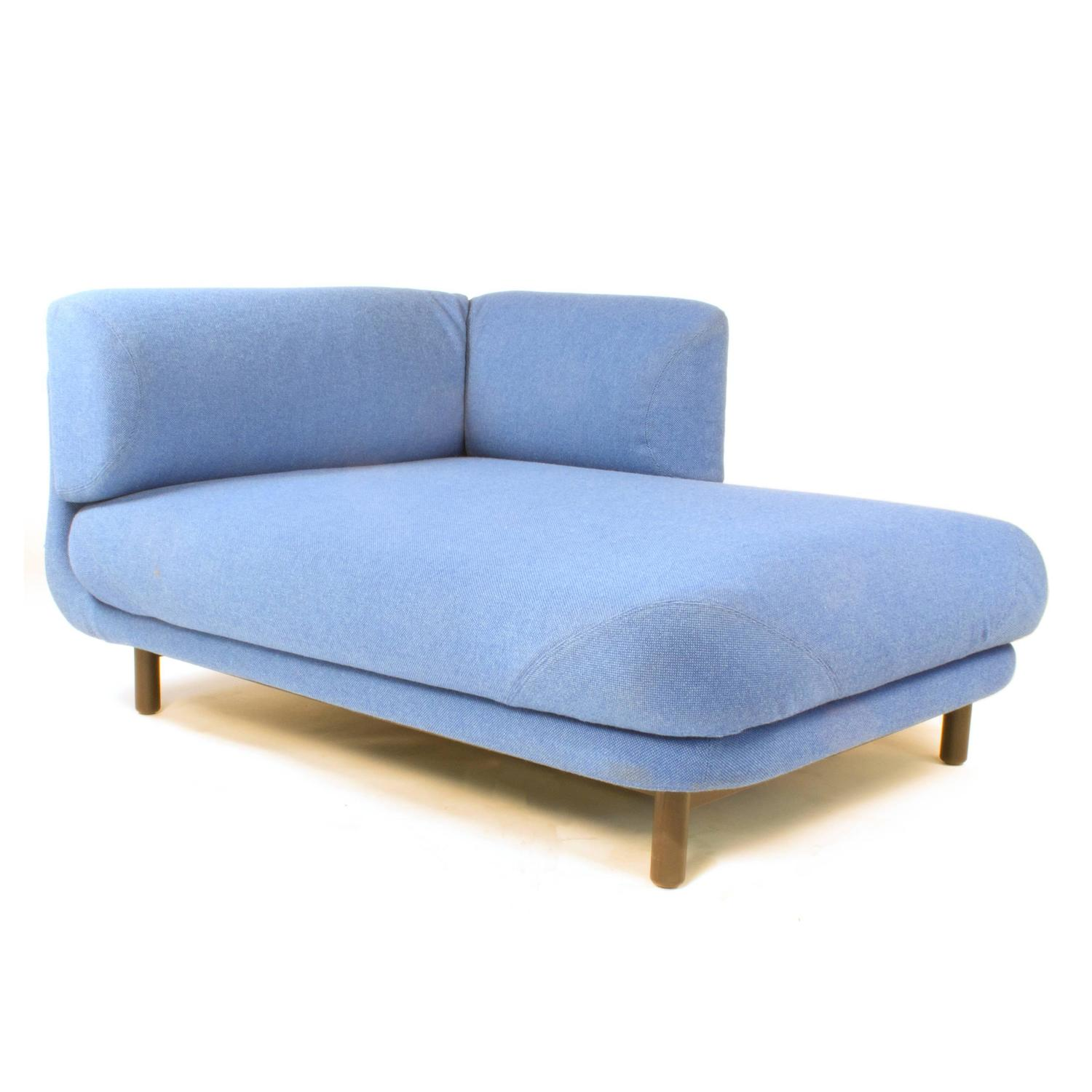 blue peg chaise longue by nendo japan for cappellini