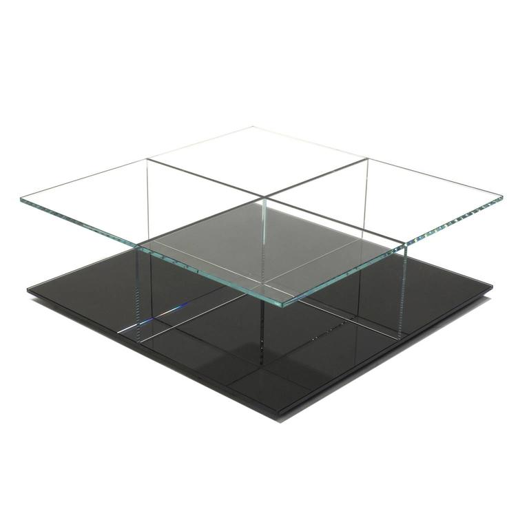 Black Mex Coffee Table By Piero Lissoni For Cassina Italy