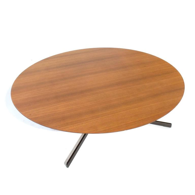 Wood Top Bob Low Coffee Table By Jean Marie Massaud For Poltrona Frau Italy For Sale At 1stdibs