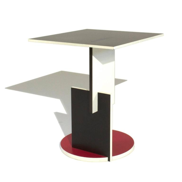 Schroeder e Low Table by Gerrit Rietveld for Cassina