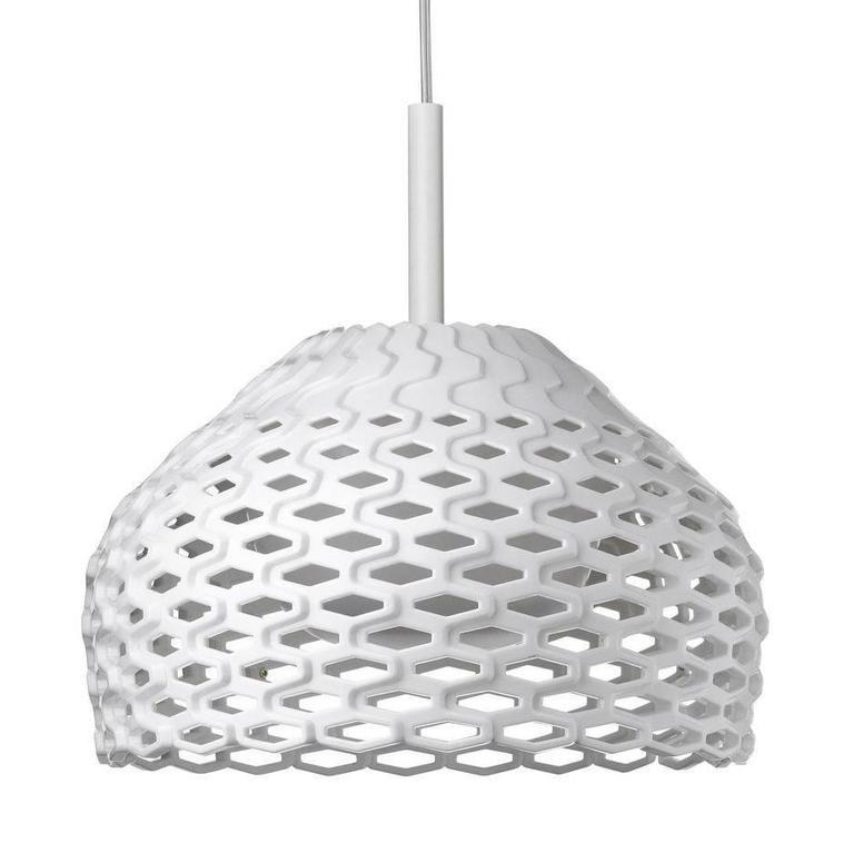 Modern White Tatou S1 Suspension Lamp By Patricia Urquiola