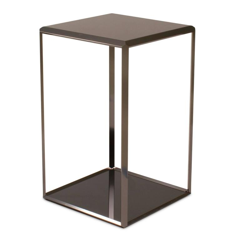 Modern 45 Grado Side End Table by Ron Gilad for Molteni Italy For